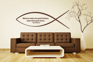 Good Christian-Wall Decals-Style and Apply