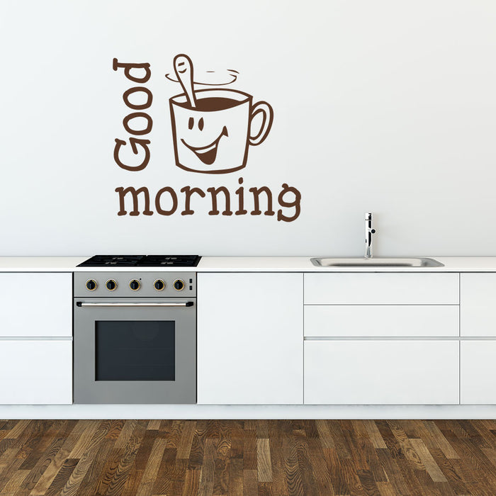 Good Morning Wall Decal
