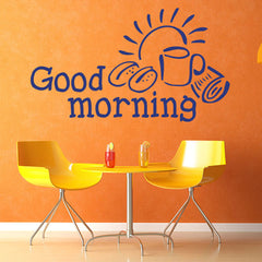 Good morning-Wall Decal