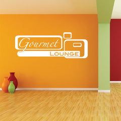 Gourmet Lounge Decal