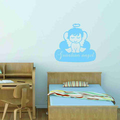 Guardian Angel Wall Decal-Wall Decals-Style and Apply