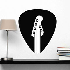Guitar Pick Wall Decal