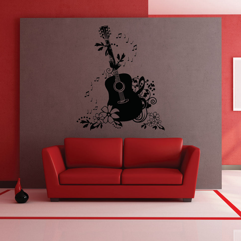 Guitar Wall Decals