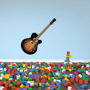 Guitar II Wall Decal Sticker