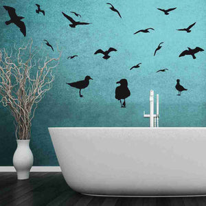 Gulls Set Wall Decal-Wall Decals-Style and Apply
