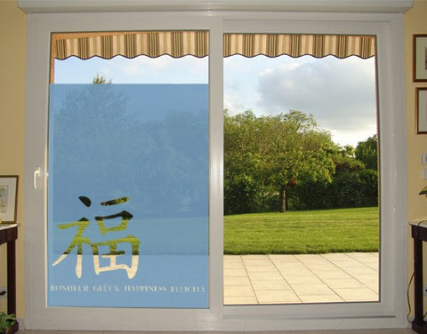 Happiness-Window Decals-Style and Apply