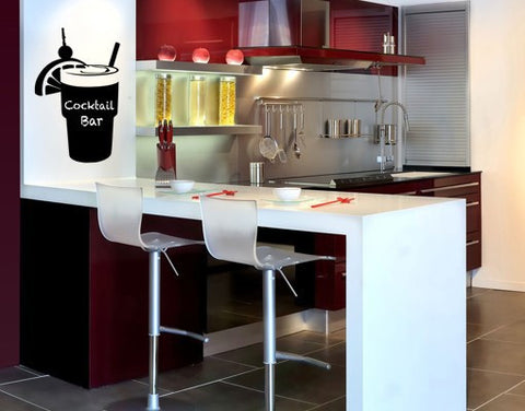 Happy Hour-Blackboard and Whiteboard Wall Decals-Style and Apply