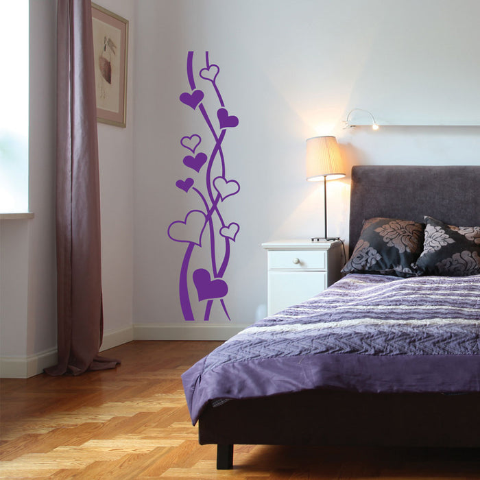 Heart Branch Wall Decal