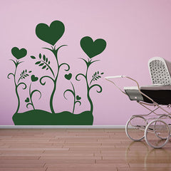 Heart Plant-Wall Decal