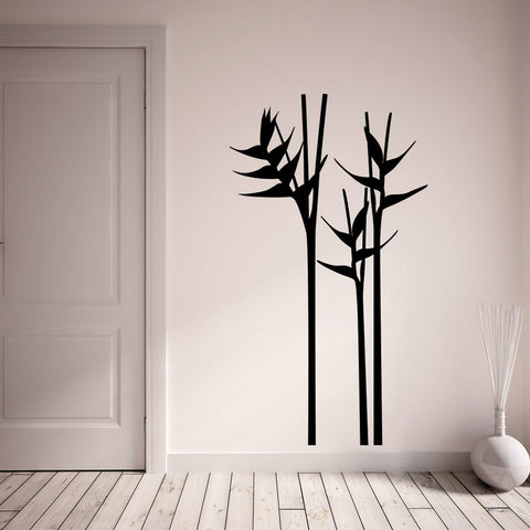 Heliconia Wall Decal
