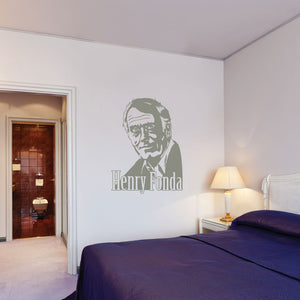 Henry Fonda-Wall Decal