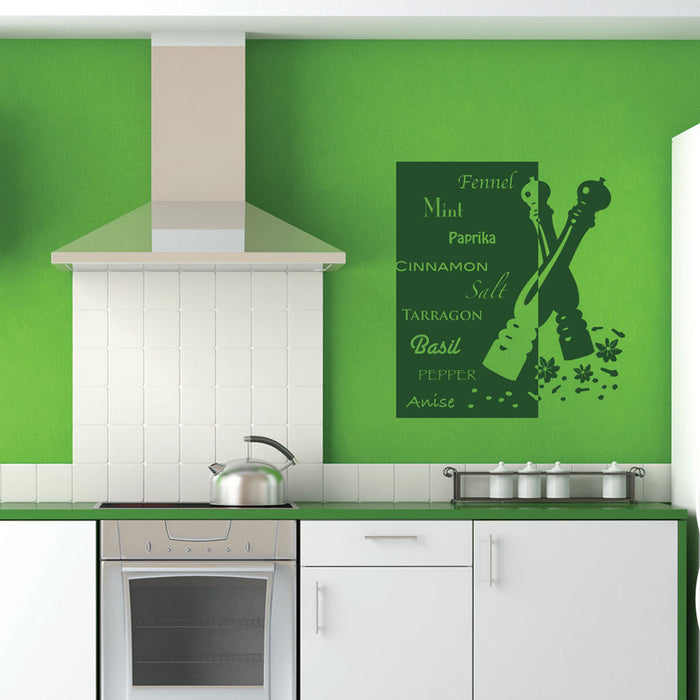 Herb Deluxe Wall Decal