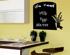 Herbs-Blackboard and Whiteboard Wall Decals-Style and Apply