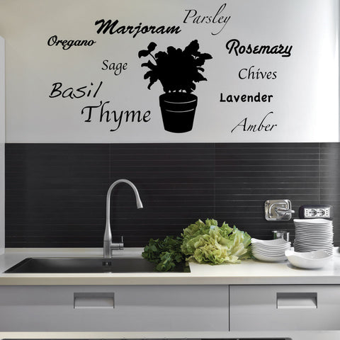 World of Herbs Decal