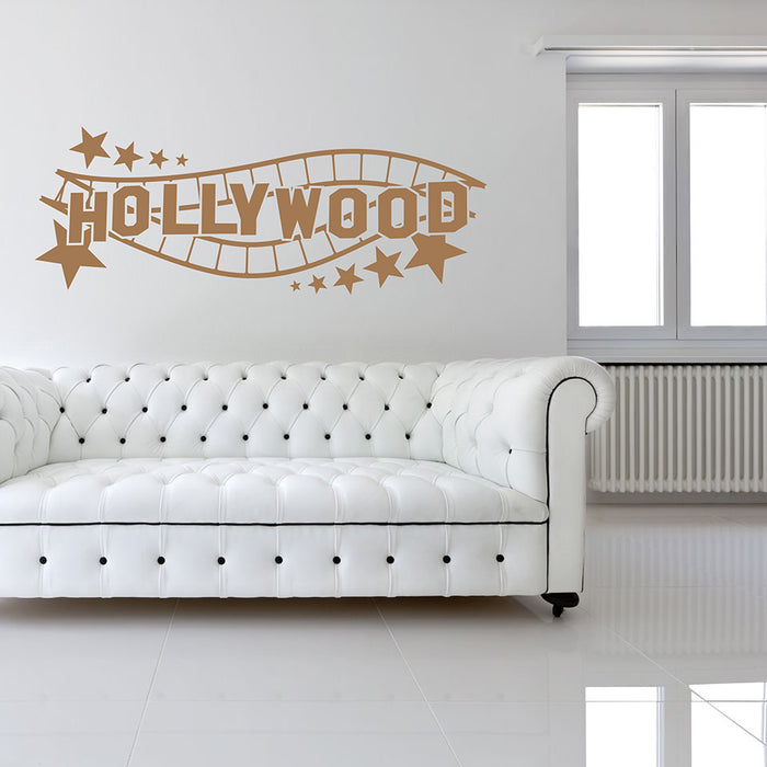 Hollywood Sign Decal