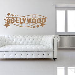 Hollywood Sign Decal-Wall Decals-Style and Apply