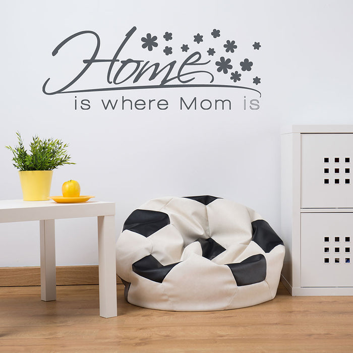 Home is Where Mom is Wall Decal
