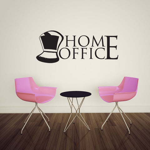 office wall decal. Home Office 2 Wall Decal