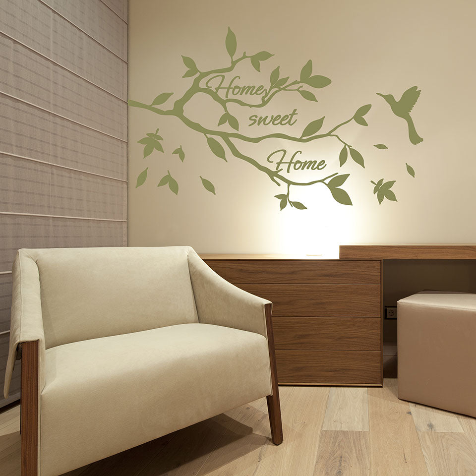 Home Sweet Home Branch Wall Decal