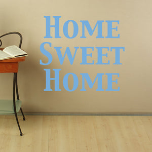 home Sweet Home-Wall Decal