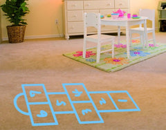 Hopscotch-Wall Decals-Style and Apply