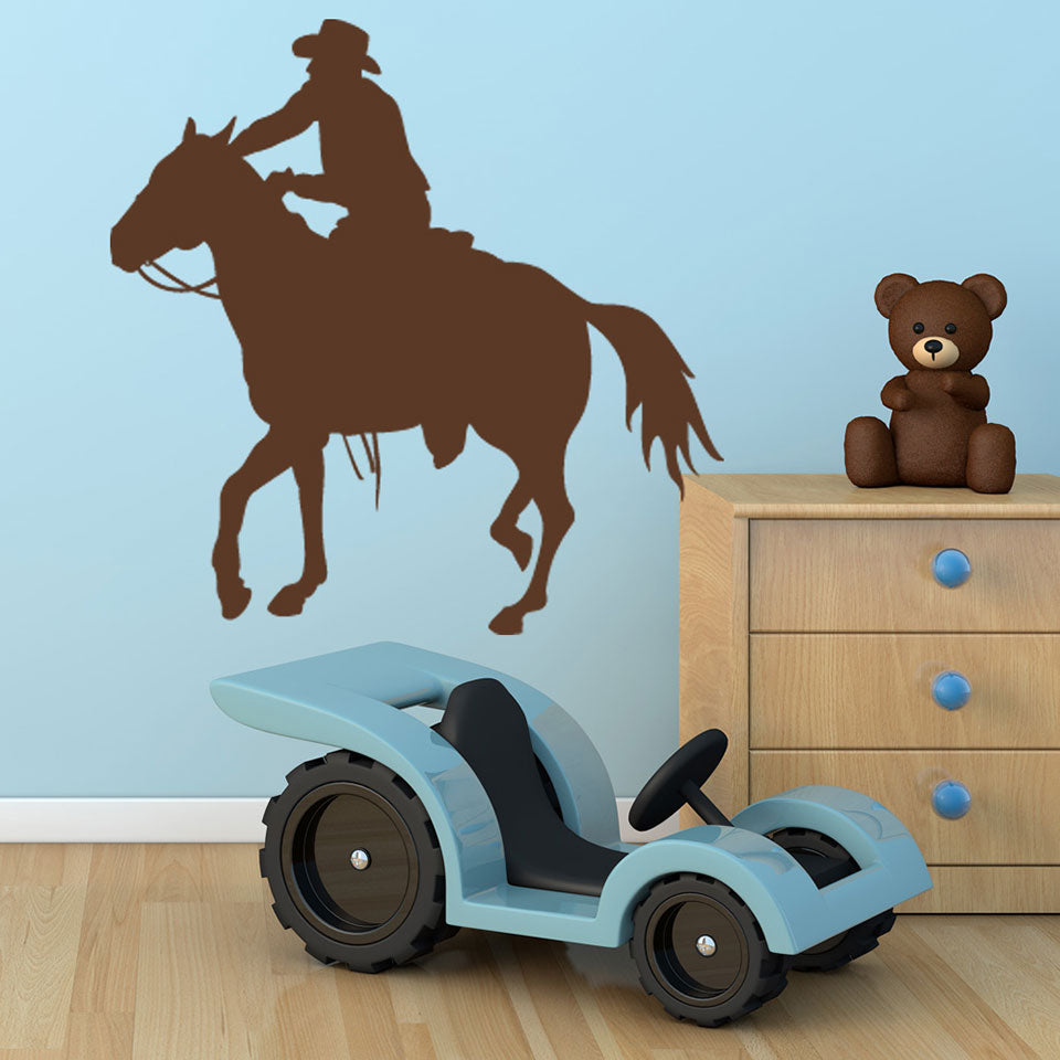 Horseman Decal-Wall Decals-Style and Apply