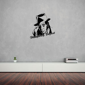 Humphrey Bogart-Wall Decal