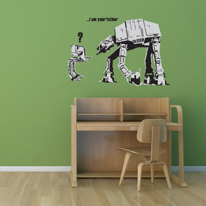 I am Your Father Banksy Wall Decal Sticker-Wall Decal Stickers-Style and Apply