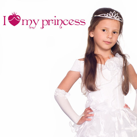 I Love my Princess Wall Decal-Wall Decals-Style and Apply
