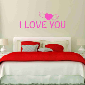 I love You Wall Decal-Wall Decals-Style and Apply