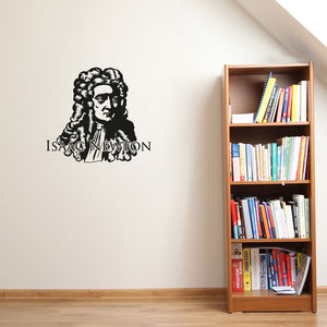 Isaac Newton-Wall Decal