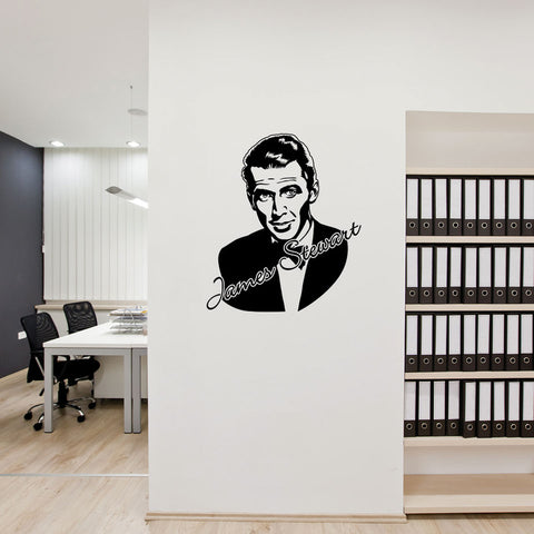 James Stewart-Wall Decal