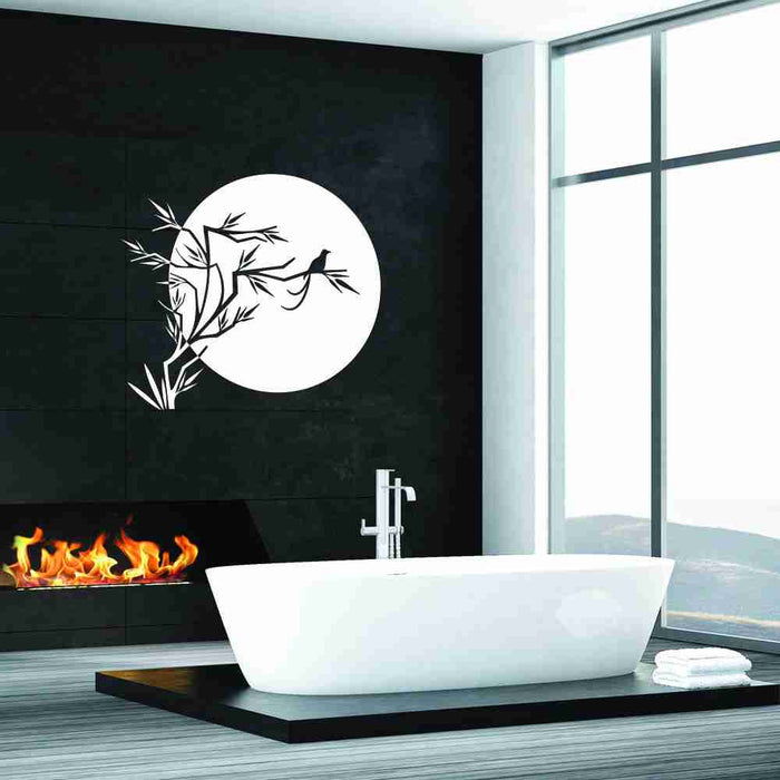 Japanese Sun Wall Decal