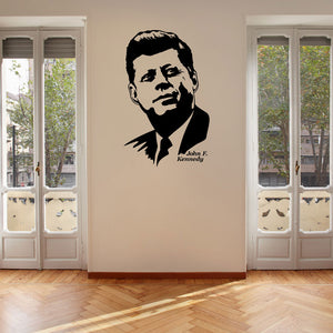 John F. Kennedy-Wall Decal