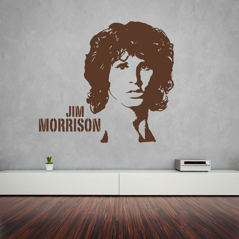 Jim Morrison-Wall Decal