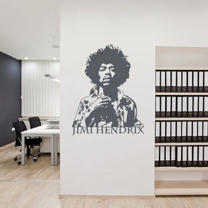 Jimi Hendrix-Wall Decal