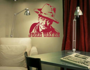 John Wayne-Wall Decals-Style and Apply