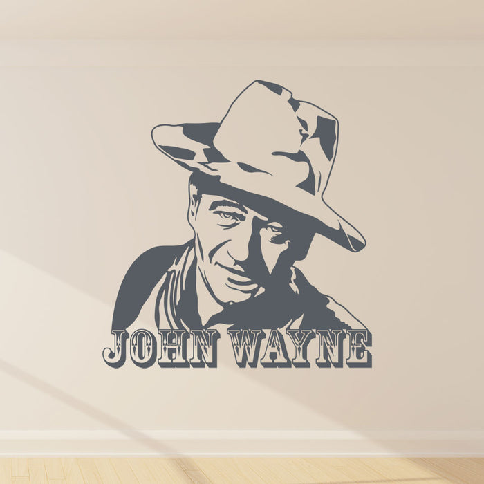 John Wayne Wall Decal