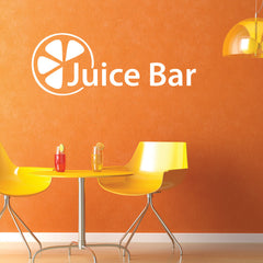 Juice Bar Decal