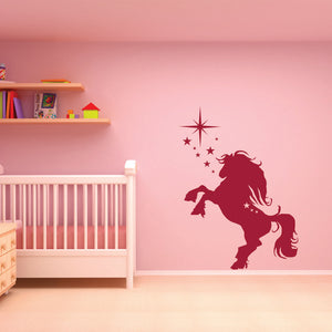 Jumping Horse-Wall Decals-Style and Apply