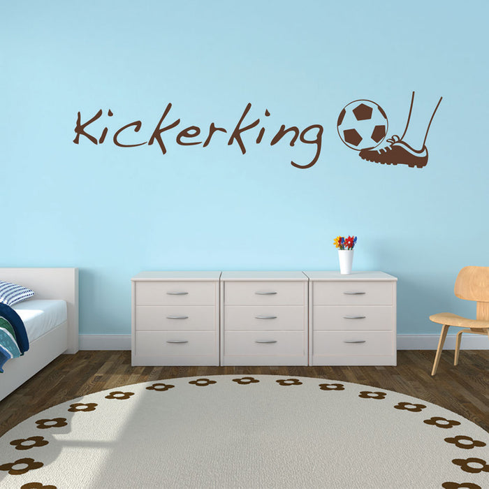 Kicker King Wall Decal