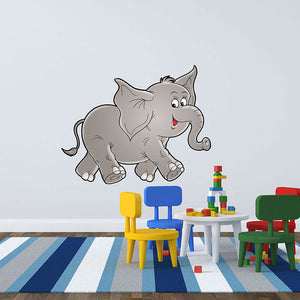 Kid's Elephant Wall Decal-Wall Decal Stickers-Style and Apply