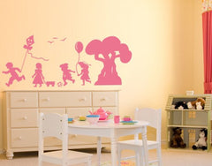 Kindergarten-Wall Decals-Style and Apply