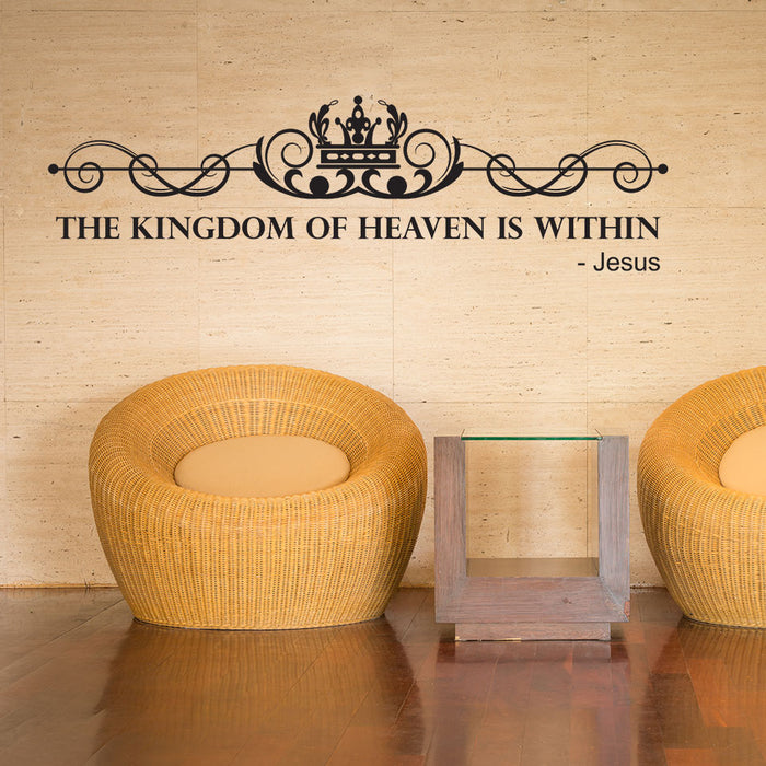 Kingdom of Heaven Wall Decal