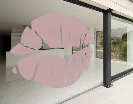 Kiss-Window Decals-Style and Apply