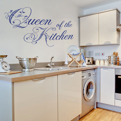 Queen of the Kitchen-Wall Decal