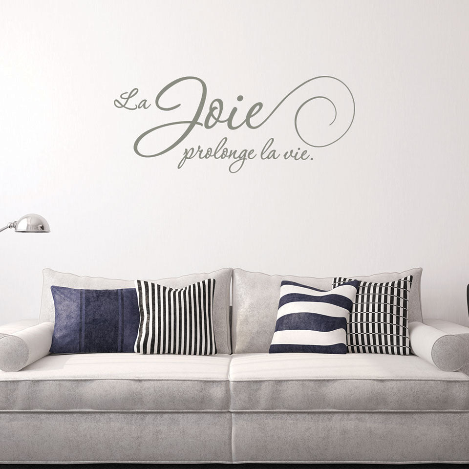 La joie-Wall Decal
