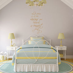 Le Coeur Quote-Wall Decal