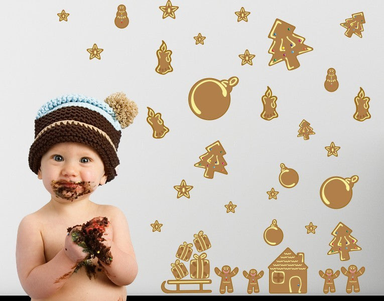 Lebkuchen Set-Wall Decal Stickers-Style and Apply