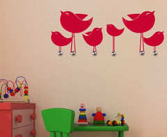 Little Birds-Wall Decal Hangers-Style and Apply